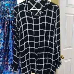 Comfy black flannel!
